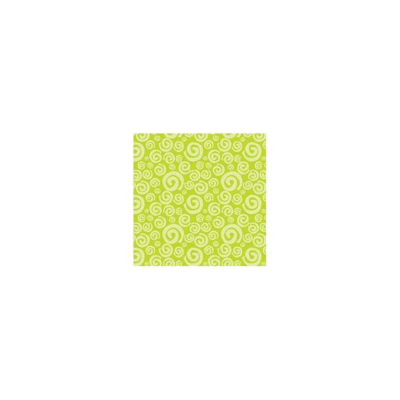 fat quarter camelot dream a little dream lime swirls cartoscrap. Black Bedroom Furniture Sets. Home Design Ideas