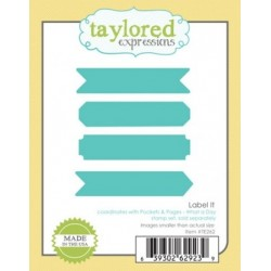 Die Taylored Expressions - Label It