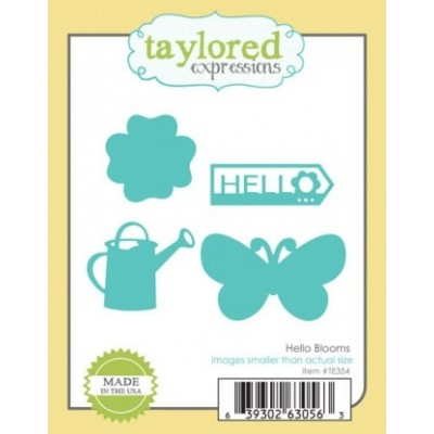 Die Taylored Expressions - Hello Blooms