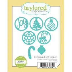 Die Taylored Expressions - Christmas Treat Toppers