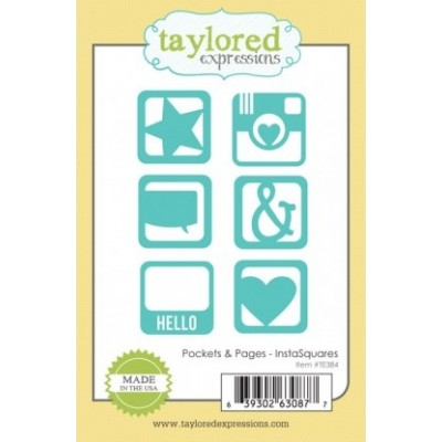 Die Taylored Expressions - Pockets & Pages Essentials - InstaSquares