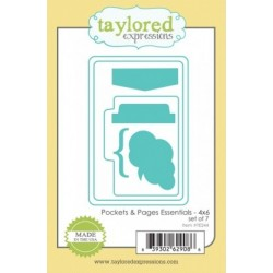 Die Taylored Expressions - Pockets & Pages Essentials - 4x6