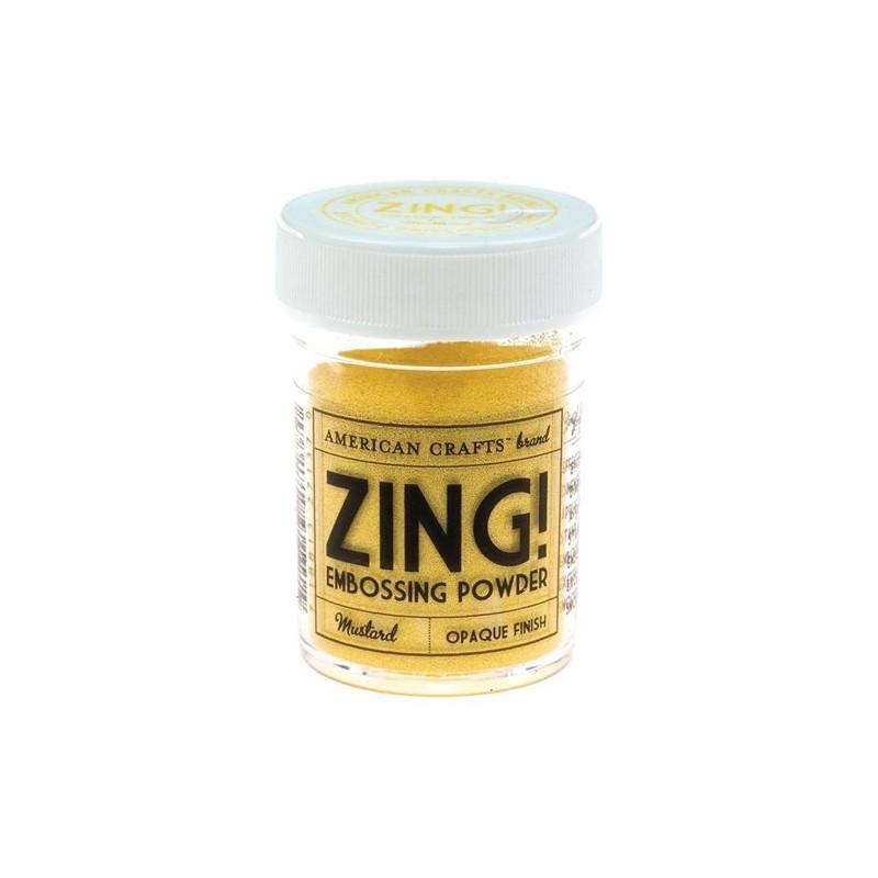 Poudre à embosser Zing! Opaque - Mustard