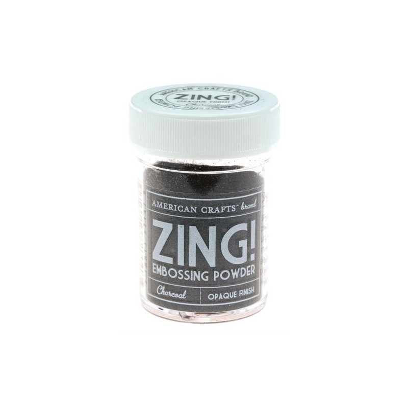 Poudre à embosser Zing! Opaque - Charcoal
