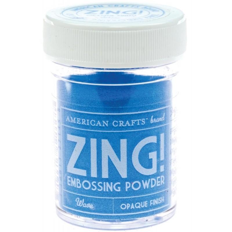 Poudre à embosser Zing! Opaque - Wave