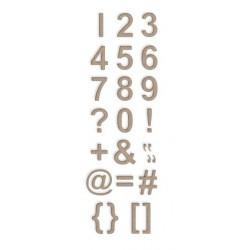 Dies Little B - Numbers