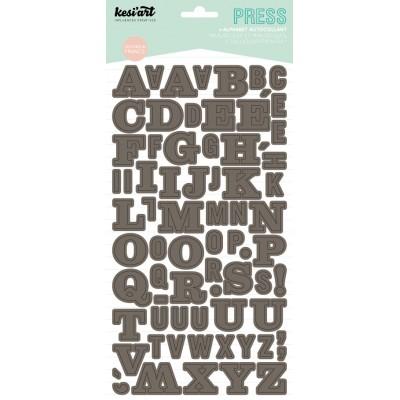 Alphabet Press Kesi'Art - Taupe