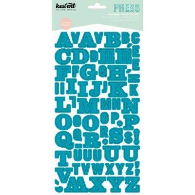 Alphabet Press Kesi'Art - Turquoise