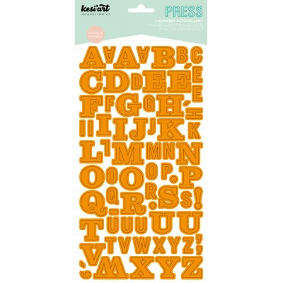 Alphabet Press Kesi'Art - Orange