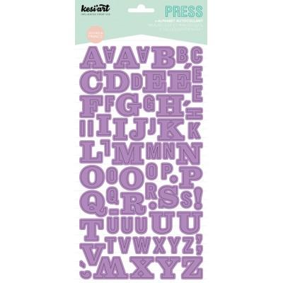 Alphabet Press Kesi'Art - Violet