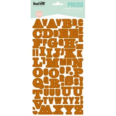 Alphabet Press Kesi'Art - Camel