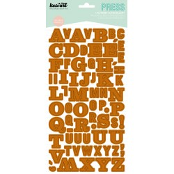 Alphabet Press Kesi'Art - Camel