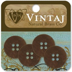 Boutons en métal Vintaj
