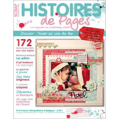 Magazine Histoires de Pages N°61 - Décembre-Janvier-Février 2015