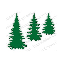 Die Impression Obsession - Evergreen Trees