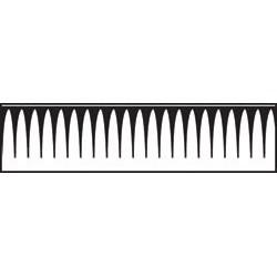 Perforatrice de bordure - Icicle Border