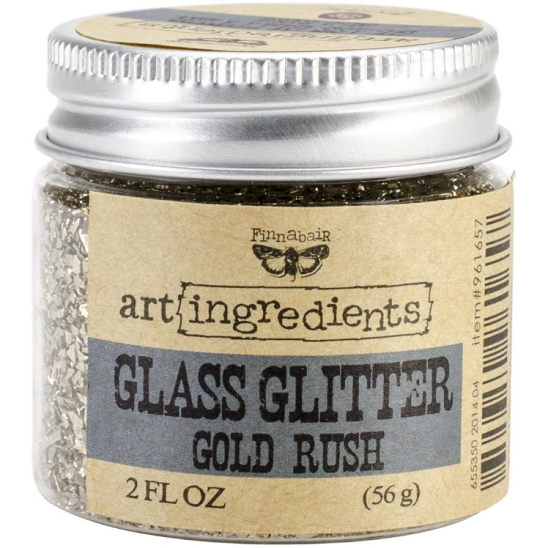 Glass Glitter - Art Ingredients - Gold Rush