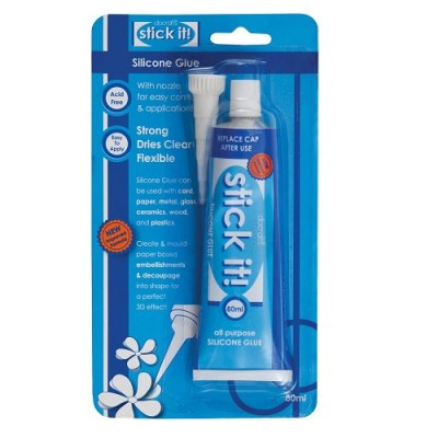 Colle Silicone Stick It 80 mL