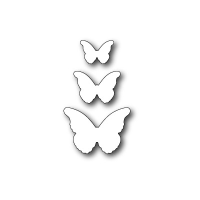 Die Memory Box - Cascadia Butterfly Trio