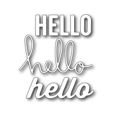 Die Memory Box - Open Studio - Oh Hello Again