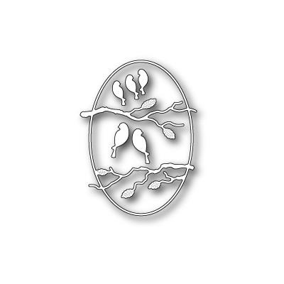 Die Poppystamps - Serendipity Bird Frame