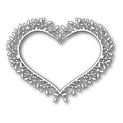 Die Poppystamps - Woodland Heart Frame