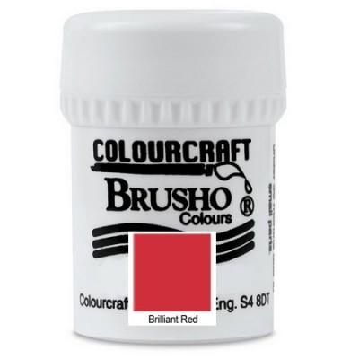 Brusho Brilliant Red 15gr