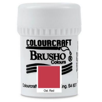Brusho Ost. Red 15gr