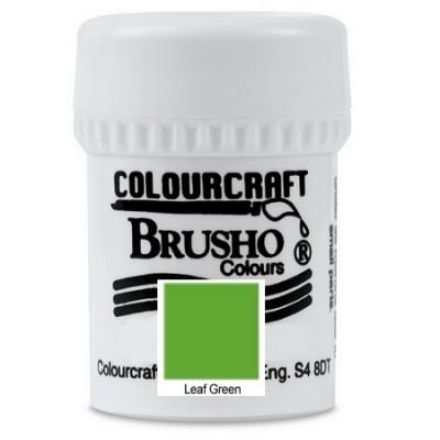 Brusho Leaf Green 15gr