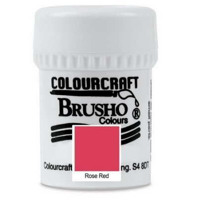 Brusho Rose Red 15gr