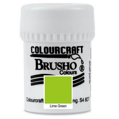 Brusho Lime Green 15gr