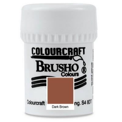 Brusho Dark Brown 15gr