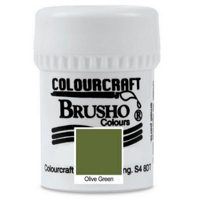 Brusho Olive Green 15gr