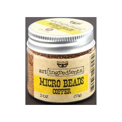 Micro Beads - Art Ingredients - Copper