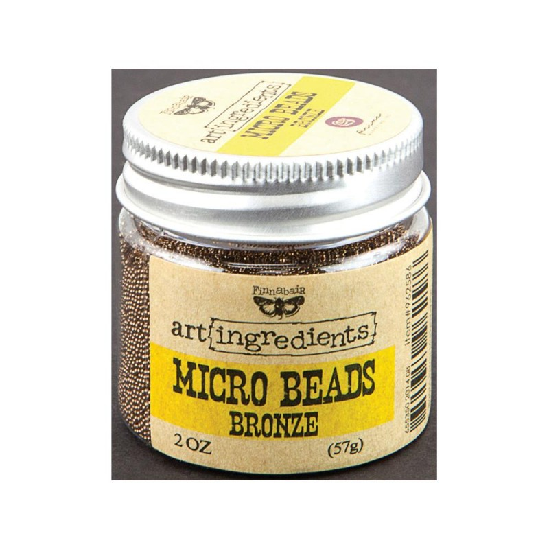 Micro Beads - Art Ingredients - Bronze