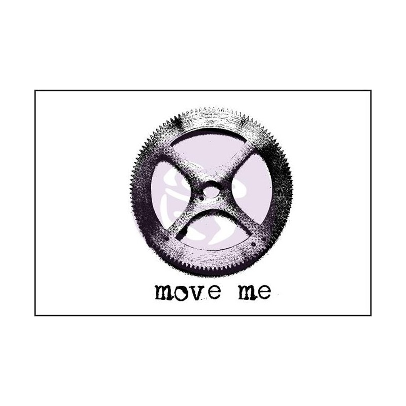 Tampon Bois Finnabair - Move Me
