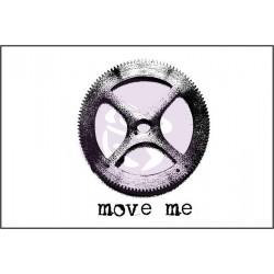 Tampon Bois Finnabair - Move Me