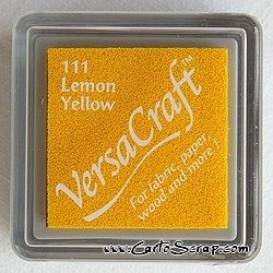 Encreur Versacraft Lemon Yellow (jaune citron)