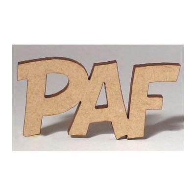 Sujet en bois - Paf