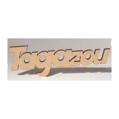 Sujet en bois - Tagazou