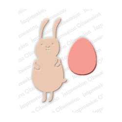 Die Impression Obsession - Bunny with Egg