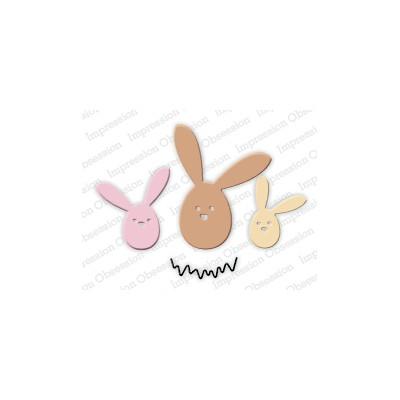 Die Impression Obsession - Egg Bunny Trio