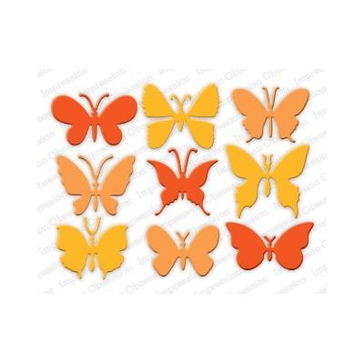 Die Impression Obsession - Medium Butterflies