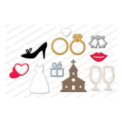 Die Impression Obsession - Wedding Icons