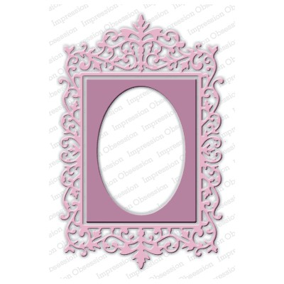 Die Impression Obsession - Ornate Rectangle Frame