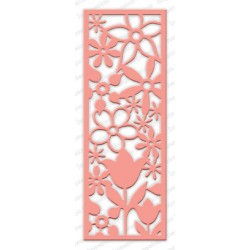 Die Impression Obsession - Floral Panel Cutout