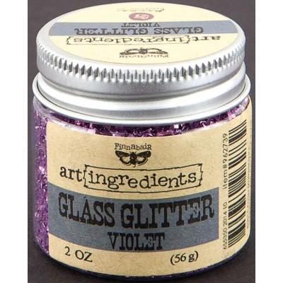 Glass Glitter - Art Ingredients - Violet