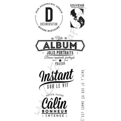 Tampons CartoScrap - Souvenirs