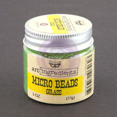 Micro Beads - Art Ingredients - Grass