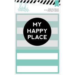 Mask & Tampon Heidi Swapp - My Happy Place
